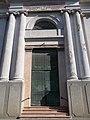 Reformed church, portal, Komárno, Slovakia.jpg