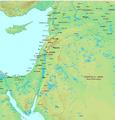 Regions of Bilad al-Sham by al-Muqaddasi.png