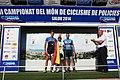 Regresó a Colombia equipo de ciclismo de la Policía que obtuvo medalla de oro en Europa (14044205658).jpg
