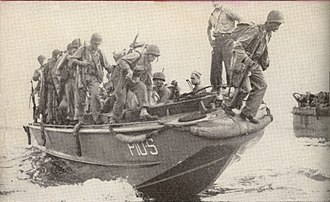 LCPL - Image: Reinforcements land on Guadalcanal