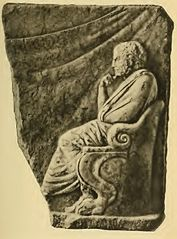 Relief of the Poet (Acropolis Museum)