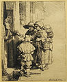 Rembrandt Family receiving alms09.jpg