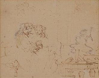 The Jewish Bride - Image: Rembrandt Isaac and Rebecca