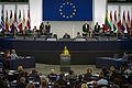 Remise du Prix Sakharov à Aung San Suu Kyi Strasbourg 22 octobre 2013-20.jpg