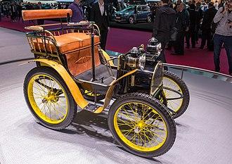 Renault Voiturette - Renault Voiturette Type A, 1898