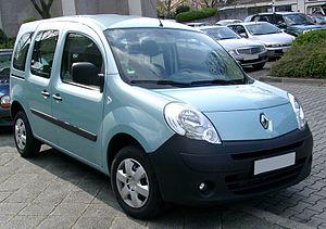 Renault Kangoo, 2. Generation