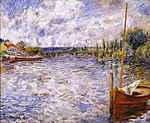 Renoir The Seine at Chatou.JPG