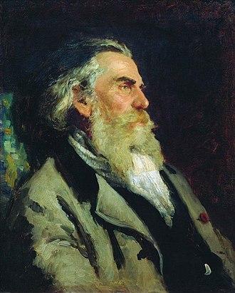 Alexey Bogolyubov - Portrait of Alexey Bogolyubov by Ilya Yefimovich Repin