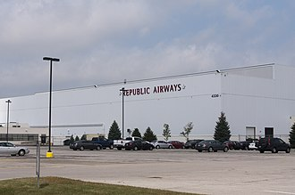 Republic Airline - Republic Airways Maintenance Base KCMH