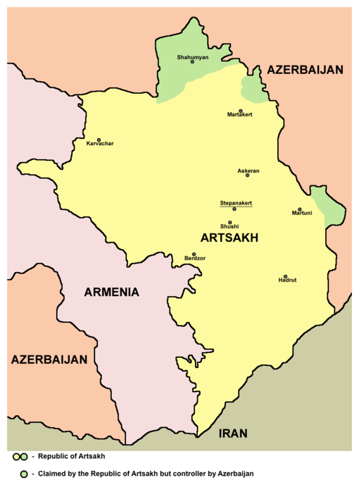 Republic of Artsakh map.png