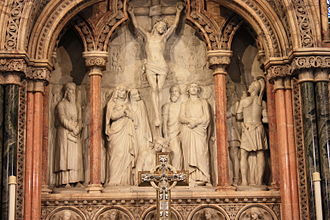 St Mary's Cathedral, Edinburgh (Episcopal) - Reredos in St Marys Episcopal Cathedral, Edinburgh