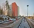 Residential neighborhood from the 1970s in Rastimäki, Havukoski, Vantaa, Finland, 2021 March - 4.jpg