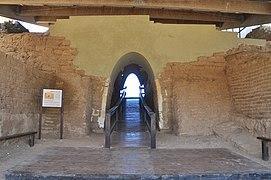 Restored Canaanite city gate of Ashkelon (14341997262)