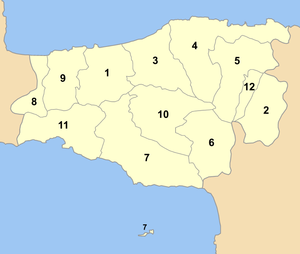 Rethymnon municipalities numbered.png