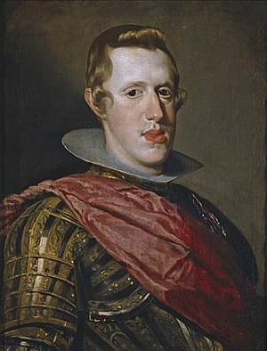 Portrait of Philip IV in Armour - Image: Retrato de Felipe IV en armadura, by Diego Velázquez