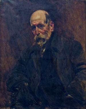 Henrique Lopes de Mendonça - Image: Retrato de Henrique Lopes de Mendonça Columbano Bordalo Pinheiro