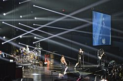 I Red Hot Chili Peppers in concerto nel 2013