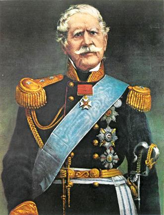 Richard Church (general) - Sir Richard Church as a Greek general