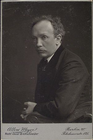 English: German Romantic composer Richard Strauss