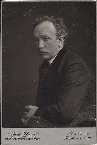 Elektra (opera) - The composer in 1911