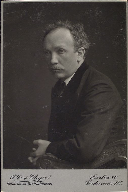 Richard Strauss young portrait