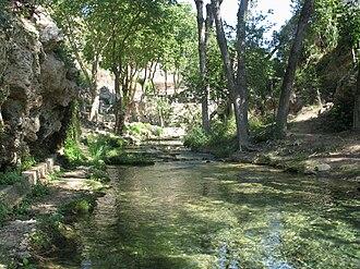 Sénia (river) - Upper course of the Sénia River in the Ports de Beseit