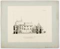 Ritning på Schloss Hallwyl - Hallwylska museet - 102239.tif