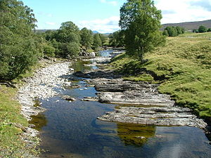 River Garry, Perthshire - River Garry at Dalnacardoch