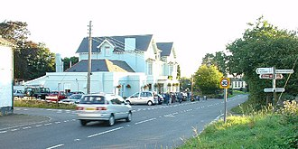 Dousland - Image: Road Junction with Inn at Dousland, Devon geograph.org.uk 55130