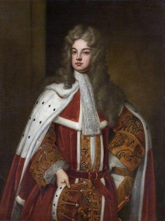 Charles Robartes, 2nd Earl of Radnor - Charles Bodvile Robartes 2nd Earl of Radnor