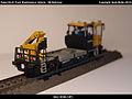 Robel Bullok BAMOWAG 54.22 Track Maintenance Vehicle - DB Bahnbau Kibri 16100 Modelismo Ferroviario Model Trains Modelleisenbahn modelisme ferroviaire ferromodelismo (11696229103).jpg