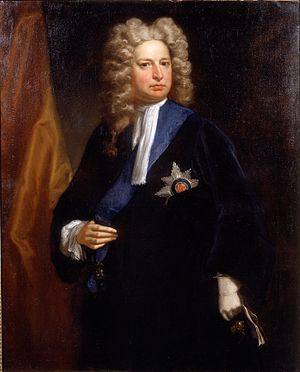 Robert Harley, 1st Earl of Oxford and Earl Mortimer - Image: Robert Harley 1710