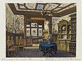 Robert Stieler, Kleine Villa Berg, Speisezimmer der Herzogin Vera, 1887.jpg