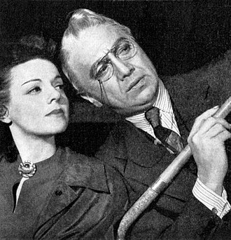 Group Theatre (New York City) - Eleanor Lynn and Luther Adler in Rocket to the Moon (1938)