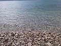 Rocky beach at Brač island, in the Adriatic Sea within Croatia.jpg