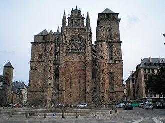 Aveyron - Image: Rodez cathedrale