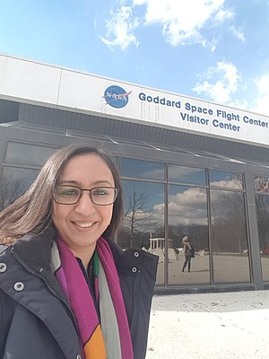 Roma Agrawal - Roma Agrawal at the Nasa Goddard Centre