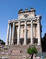 Rome-Forum romain-Temple d'Antonin et Faustine.jpg