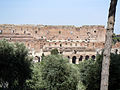 Rome-Remains of Doumus Augustana and the palace of Septimius Severus.jpg