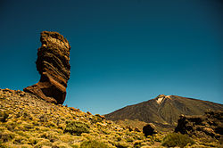 Roque Cinchado, Teide National Park (World Heritage Site). Tenerife, Canary Islands, Spain, Southwestern Europe.jpg