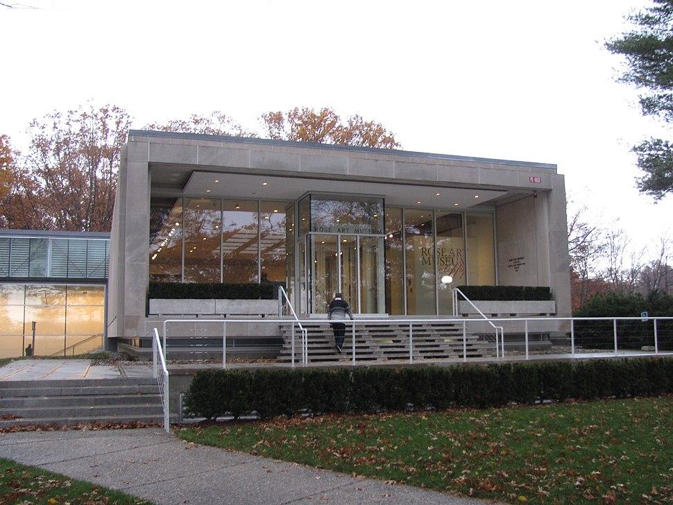 Rose Art Museum, Brandeis University, Waltham MA