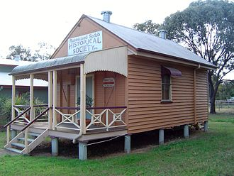 Marburg, Queensland - Rosewood Historical Society building, 2014
