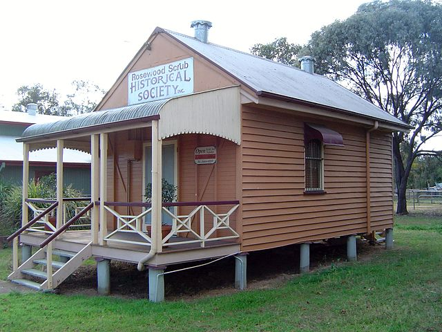 Rosewood Historical Society building, 2014