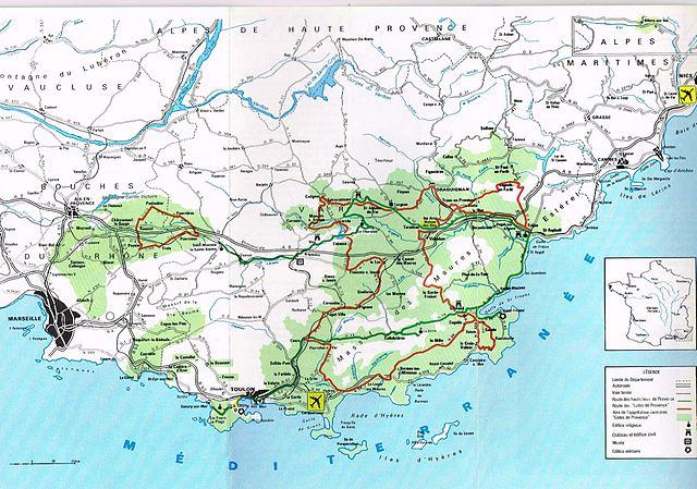 Винный маршрут Кот де Прованс
