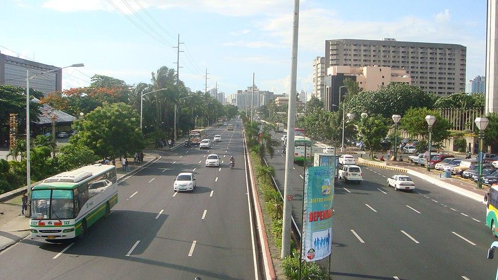 Roxas Boulevard in Pasay City 02