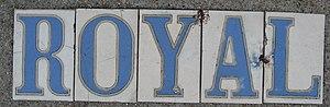 Royal Street, New Orleans - Royal street tiles