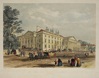 Theatre Royal, Plymouth - Foulston's building of 1813