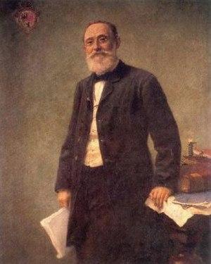 Charité -  Rudolf Virchow, by Hugo Vogel