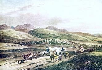 Minas Gerais - Town of Bom Jesus de Matosinhos c.1821-1825