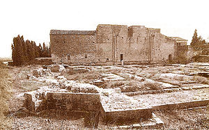 Psalmody Abbey - Ruins of the Abbaye de Psalmody.